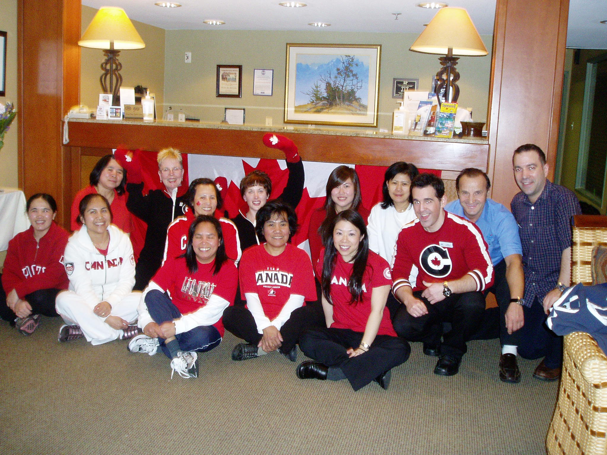 Accent Inns BC Hotel Chain, Burnaby team welcomes the Olympics