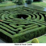 a maze at hever castle