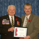 Accent Inns BC Hotel receives Legion Recognition plaque presentation Nov 2010
