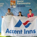 Burnaby Hotel supports world partnership walk