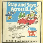 BC Hotel Chain Accent Inn began as Stay and Save Inns back in 1986