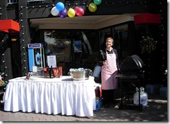 Vancouver Airport hotel Group Sales Mgr Donna raising funds for SOS