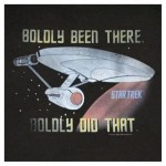 star trek boldly been there t-shirt