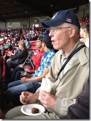 Enjoying Cdns Baseball