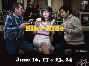 Accent Inns proud to support Bike Ride by Theatre Skam in Victoria BC
