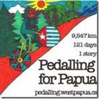 Pedalling for Papua