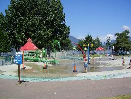 Fun waterpark for the kids