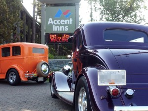 picture of cars that will be at Esquimalt celebration of lights car show
