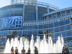 2013 blizzcon sign on convention center