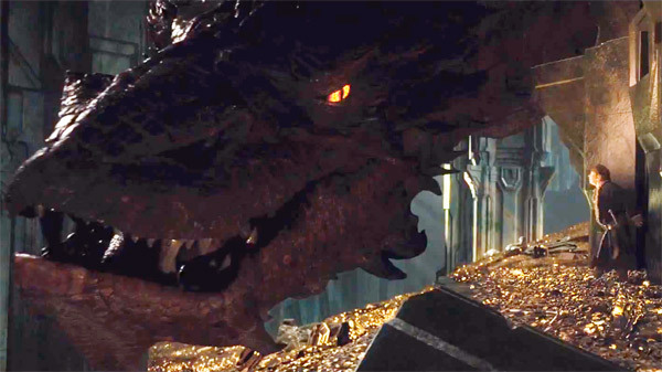 Hobbit Trilogy photo - desolation of smaug dragon