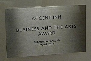 Richmond arts award 2014 (2)
