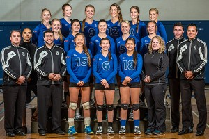 camosun womens volleyball team