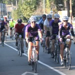 ALS Cycle of Hope riders in Tour De Victoria 2015