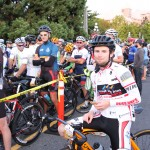 Accent Inns bike team members at the Tour De Victoria 2015